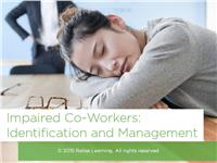 Impaired Co-Workers: Identification and Management